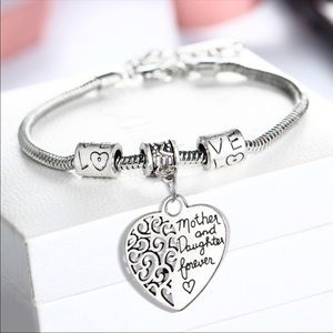 Jewelry - Mother and Daughter Forever Charm Bracelet